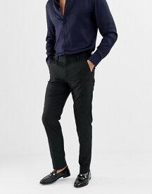 フレンチコネクション メンズ カジュアルパンツ ボトムス French Connection Plain Slim Fit Pants Black
