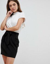 ブレーブソウル レディース スカート ボトムス Brave Soul juli tie waist skirt Black