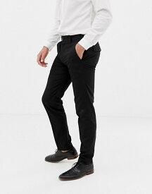フレンチコネクション メンズ カジュアルパンツ ボトムス French Connection Plain Skinny Fit Pants Black