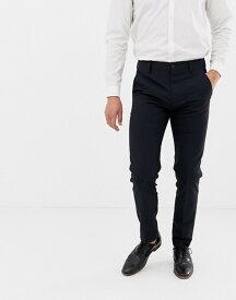 フレンチコネクション メンズ カジュアルパンツ ボトムス French Connection Plain Skinny Fit Pants Navy