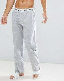 フレンチコネクション メンズ カジュアルパンツ ボトムス French Connection Cotton Lounge Pants Light grey mel
