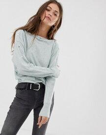オールセインツ レディース ニット・セーター アウター AllSaints Elle sweater Mint green