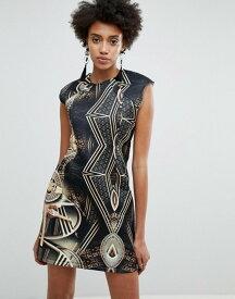 エイソス レディース ワンピース トップス ASOS x Star Wars Scuba Printed Mini Dress Multi