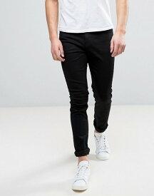 チープマンデー メンズ デニムパンツ ボトムス Cheap Monday Jeans Tight Skinny Fit In New Black Black