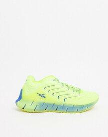 リーボック レディース スニーカー シューズ Reebok x Chromat zig kinetica sneakers in acid yellow Yellow