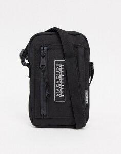 ナパピリ メンズ トラベルケース・パスポートケース バッグ Napapijri Horizon small cross body bag in black Black