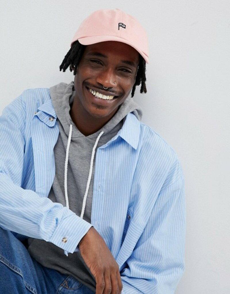ハーシャル メンズ 帽子 アクセサリー Herschel Supply Co Sylas Baseball Cap Pink