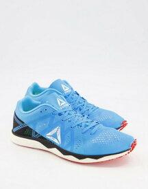 リーボック メンズ スニーカー シューズ Reebok floatride run fast pro sneakers in blue Black/cyan/white/red