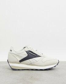 リーボック レディース スニーカー シューズ Reebok Classic Leather AZ sneakers in beige Beige