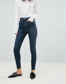 エイソス レディース デニムパンツ ボトムス ASOS 'Sculpt Me' High Rise Premium Jeans in Viola London Blue London blue