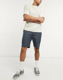 リバーアイランド メンズ ハーフパンツ・ショーツ ボトムス River Island Premium jersey shorts in gray Slate