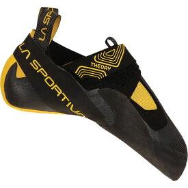 ラスポルティバ メンズ スニーカー シューズ Theory Climbing Shoe Black/Yellow