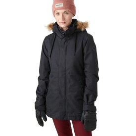 ボルコム レディース ジャケット・ブルゾン アウター Fawn Insulated Jacket Black