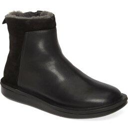 カンペール レディース ブーツ・レインブーツ シューズ Camper Formiga Boot (Women) Black Leather