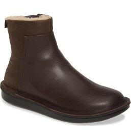 カンペール レディース ブーツ・レインブーツ シューズ Camper Formiga Boot (Women) Brown Leather