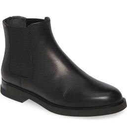 カンペール レディース ブーツ・レインブーツ シューズ Camper Iman Chelsea Boot (Women) Black Leather