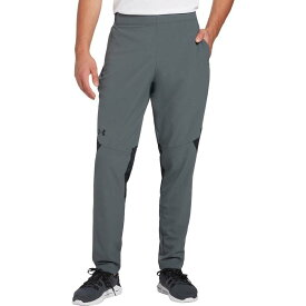 アンダーアーマー メンズ カジュアルパンツ ボトムス Under Armour Men's Vanish Woven Pants (Regular and Big & Tall) Pitch Gray/Black