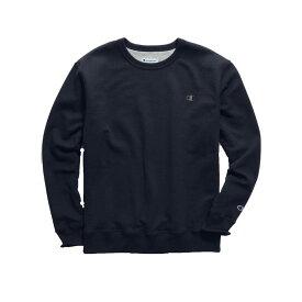 チャンピオン メンズ パーカー・スウェット アウター Champion Men's Powerblend Fleece Crewneck Sweatshirt (Regular and Big & Tall) Navy