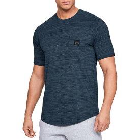 アンダーアーマー メンズ シャツ トップス Under Armour Men's Sportstyle Pocket T-Shirt Academy/Black