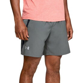 アンダーアーマー メンズ ハーフパンツ・ショーツ ボトムス Under Armour Men's Launch 7'' Running Shorts (Regular and Big & Tall) Pitch Gray/Black