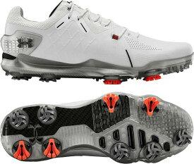 アンダーアーマー メンズ スニーカー シューズ Under Armour Men's Spieth 4 GTX Golf Shoes White/Black