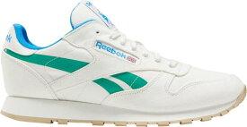 リーボック メンズ スニーカー シューズ Reebok Men's Classic Leather Grow Shoes White/Green/Blue/Black
