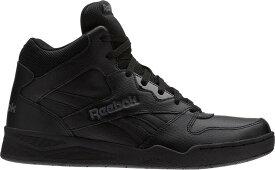 リーボック メンズ スニーカー シューズ Reebok Men's Royal BB4500 HI2 Shoes Black/Alloy