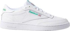 リーボック メンズ スニーカー シューズ Reebok Men's Club C 85 Shoes White/Green