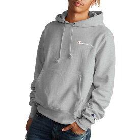 チャンピオン メンズ パーカー・スウェット アウター Champion Men's Reverse Weave Hoodie Oxford Gray