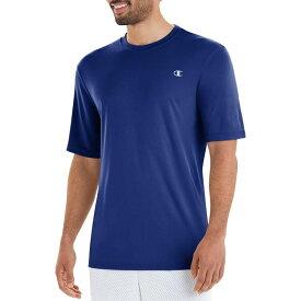 チャンピオン メンズ シャツ トップス Champion Men's Tech T-Shirt Royal Blue
