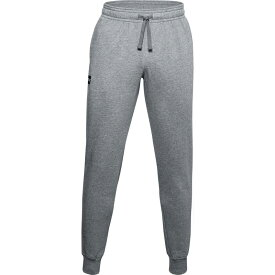 アンダーアーマー メンズ カジュアルパンツ ボトムス Under Armour Men's Rival Fleece Jogger Pants Pitch Gray Light Heather