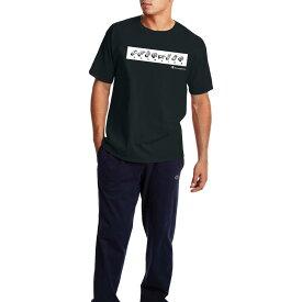 チャンピオン メンズ シャツ トップス Champion Men's Sign Language Short Sleeve Graphic T-Shirt Black
