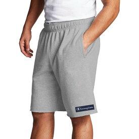 チャンピオン メンズ ハーフパンツ・ショーツ ボトムス Champion Men's Powerblend Graphic Shorts Oxford Grey