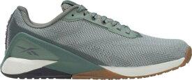 リーボック メンズ スニーカー シューズ Reebok Men's Nano X1 GRIT Training Shoes Green/Grey