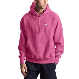 チャンピオン メンズ パーカー・スウェット アウター Champion Men's Reverse Weave Hoodie Pink