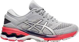 アシックス レディース スニーカー シューズ ASICS Women's GEL-Kayano 26 Running Shoes Grey/Pink