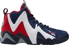 リーボック メンズ スニーカー シューズ Reebok Kamikaze II Basketball Shoes Red/White/Blue