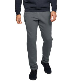 アンダーアーマー メンズ カジュアルパンツ ボトムス Under Armour Men's Rival Fleece Pants (Regular and Big & Tall) Pitch Gray