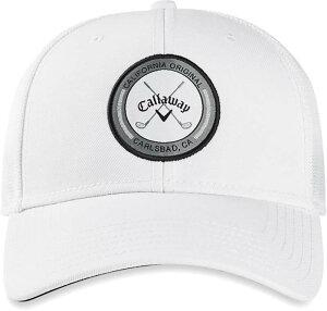 キャラウェイ メンズ 帽子 アクセサリー Callaway Men's Trucker Golf Hat White