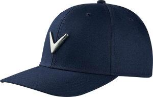 キャラウェイ メンズ 帽子 アクセサリー Callaway Men's Metal Icon Hat Navy