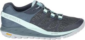 メレル レディース スニーカー シューズ Merrell Women's Antora Trail Running Shoes Navy/Blue