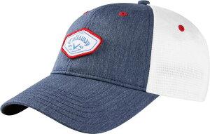 キャラウェイ レディース 帽子 アクセサリー Callaway Women's Heathered Hat Navy/Red