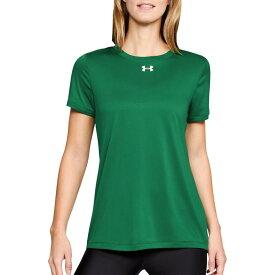 アンダーアーマー レディース シャツ トップス Under Armour Women's Locker 2.0 T-Shirt Team Kelly Green