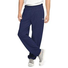 チャンピオン メンズ カジュアルパンツ ボトムス Champion Men's Closed Bottom Jersey Pants Navy