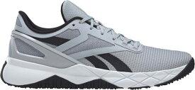 リーボック メンズ スニーカー シューズ Reebok Men's NanoFlex TR Training Shoes Grey/White/Black