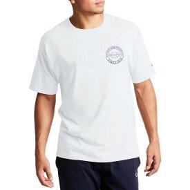 チャンピオン メンズ Tシャツ トップス Champion Men's Classic Circle Graphic T-Shirt White