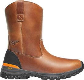 ダナー メンズ ブーツ・レインブーツ シューズ Danner Men's Stronghold Wellington 10'' EH Composite Toe Work Boots Brown