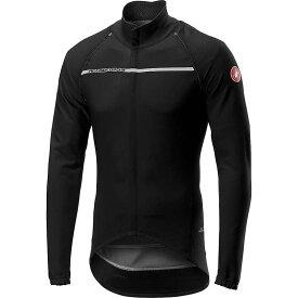 カステリ メンズ ジャケット・ブルゾン アウター Castelli Men's Perfetto RoS Convertible Jacket Light Black