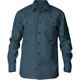 フェールラーベン メンズ シャツ トップス Fjallraven Men's Singi Trekking Shirt Dusk