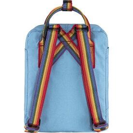 フェールラーベン メンズ バックパック・リュックサック バッグ Fjallraven Kanken Rainbow Backpack Air Blue / Rainbow Pattern